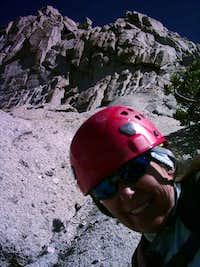 nasa-girl on our epic climb!