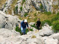Ascent to Kolac peak
