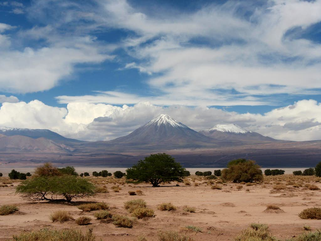Licancabur from Chile