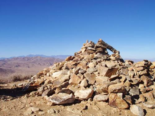 Cairn on Ryan Mountain