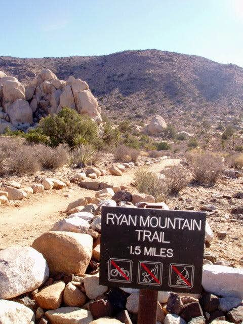 Ryan Mtn Trail