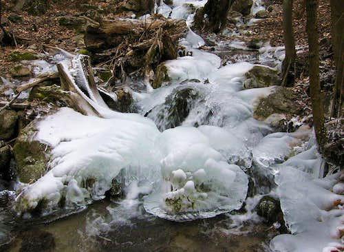 Zadiel-valley in winter