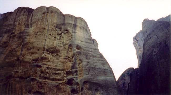 Pixari (left) and Agia towers.