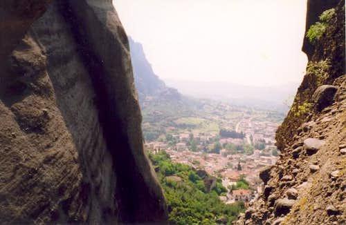 View of Kalambaka town...