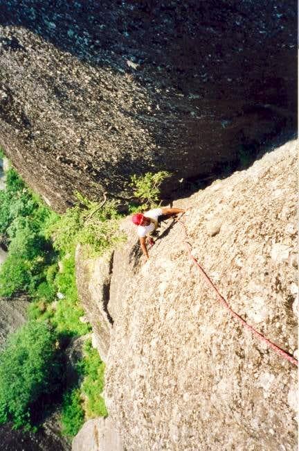 A climber whose name I can't...