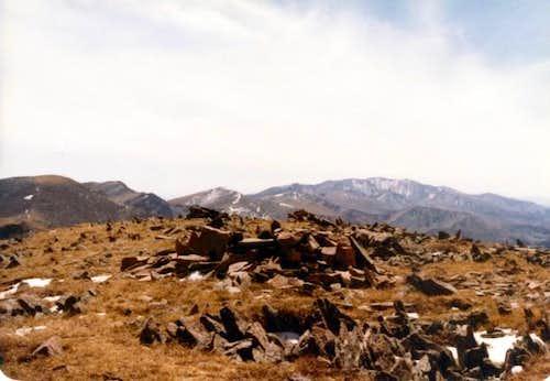 From the summit of Trinchera...
