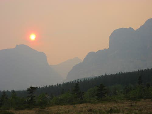Wildfires and a Burning Sun