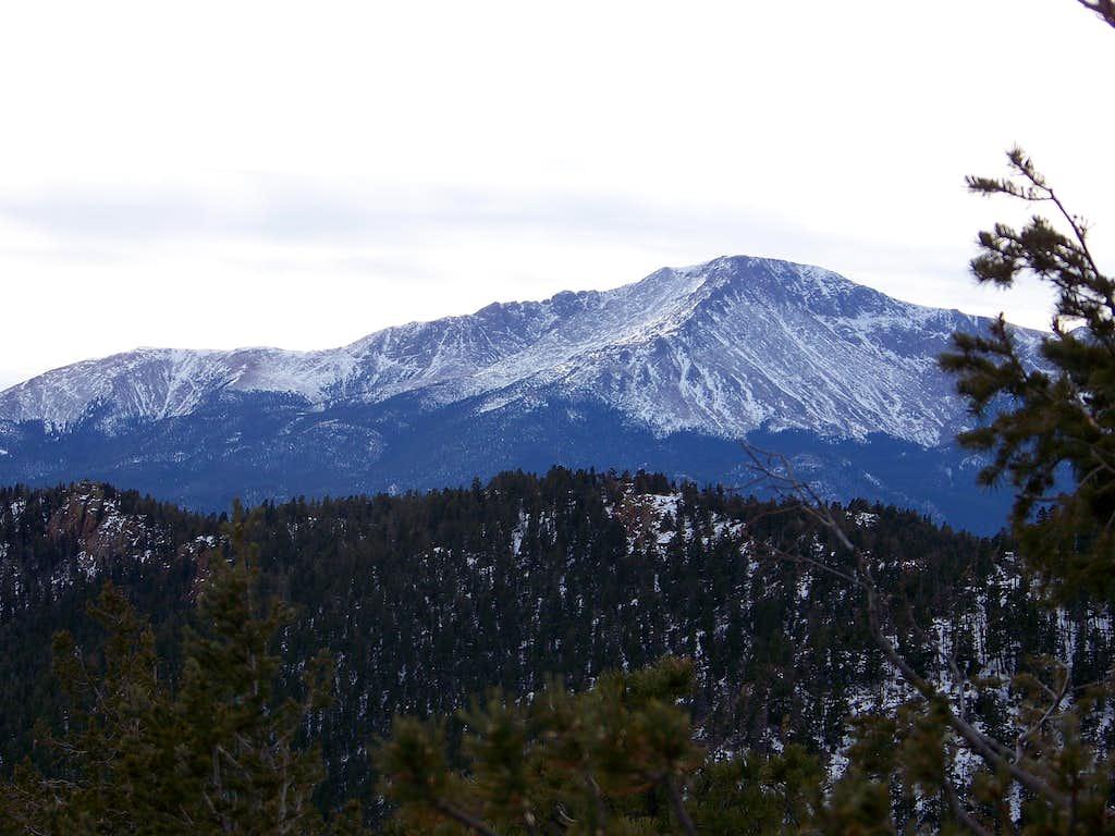 Pikes Peak from Blodgett