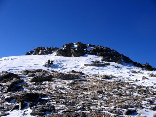 Summit of Chief Mtn B