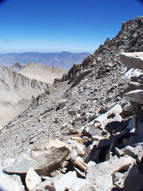 North slope Mt Whitney