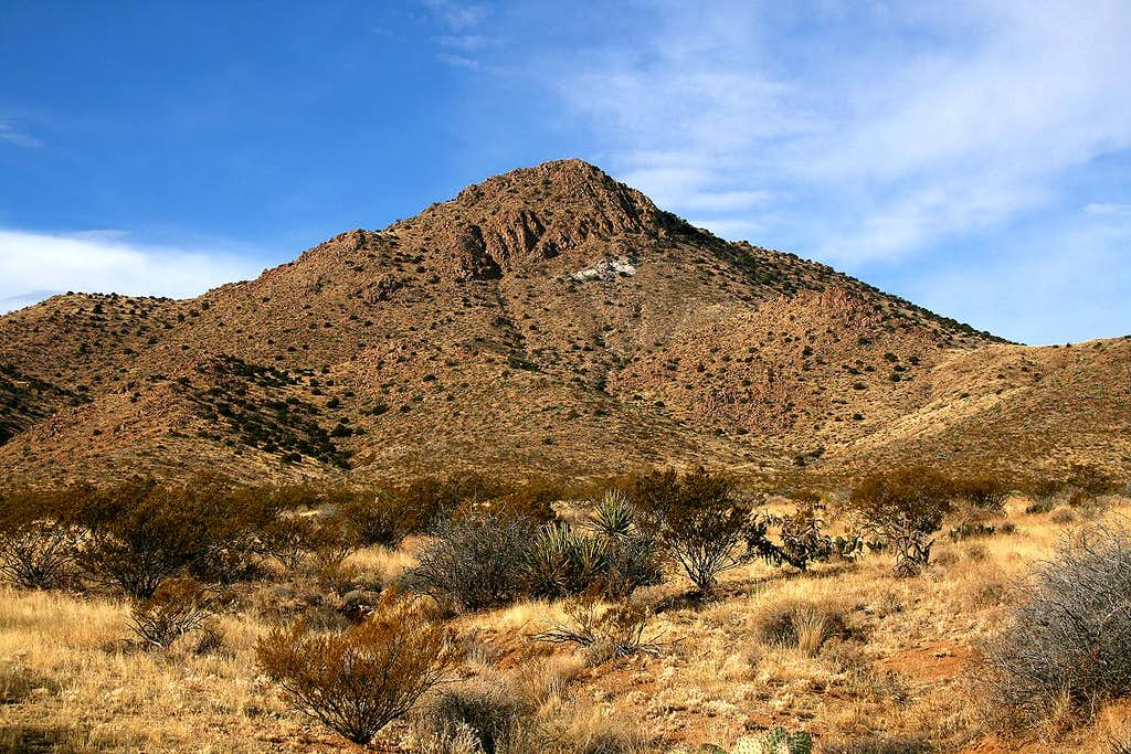 North Peak, Tres Hermanas Mountains