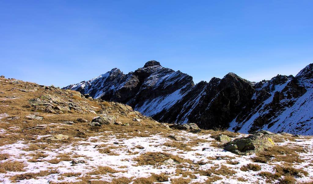 Il versante Nord della Tête d'Arpisson...