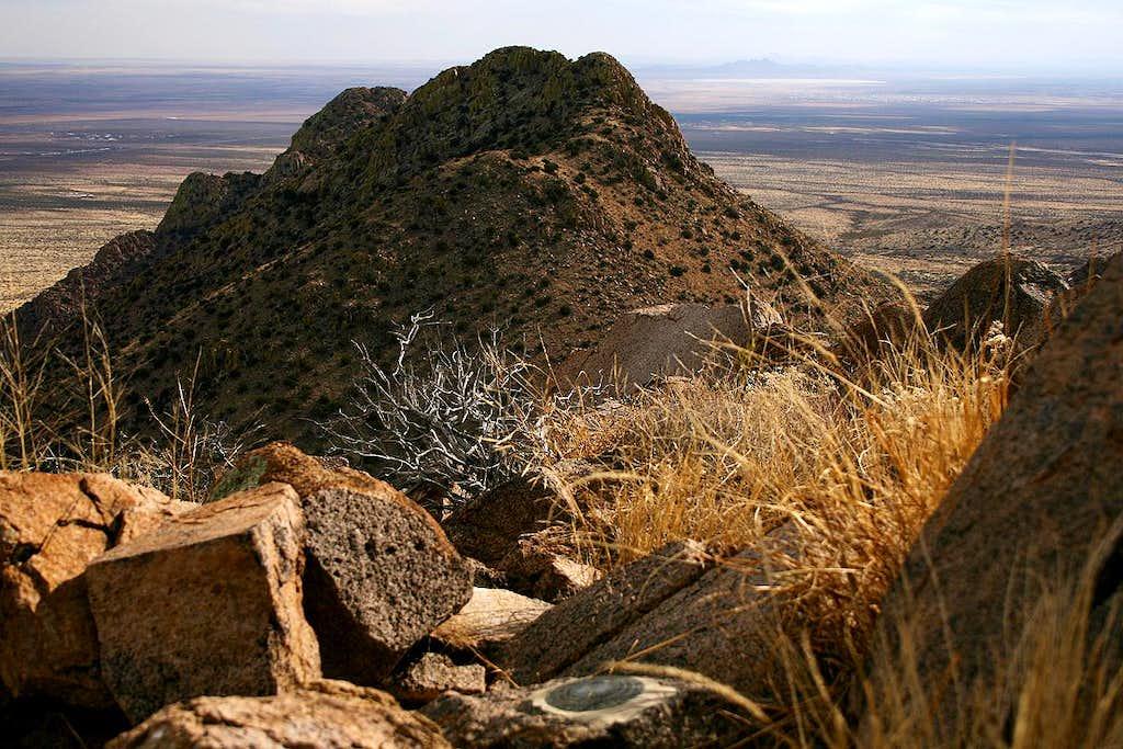 North Peak summit view