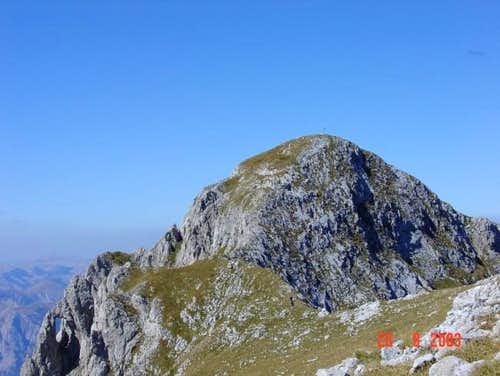 Maglic - the summit....