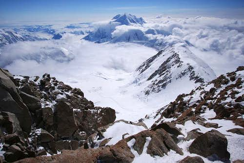 Mt. Foraker from West Buttress