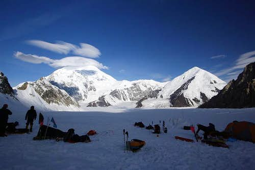 Mt. Foraker from Denali Base Camp
