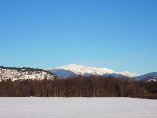 Mount Washington viewed from...