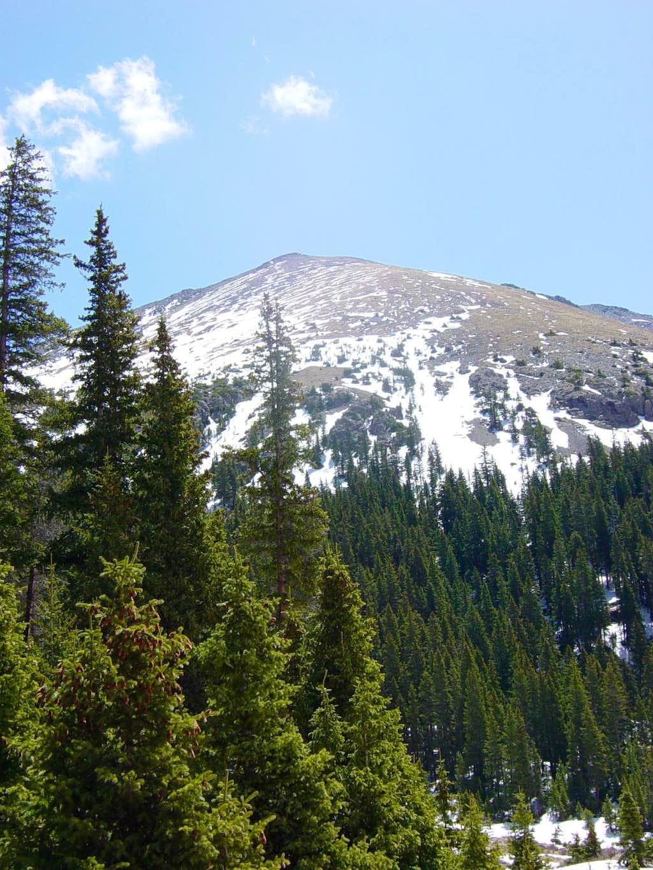 Wheeler Peak from Williams Lake