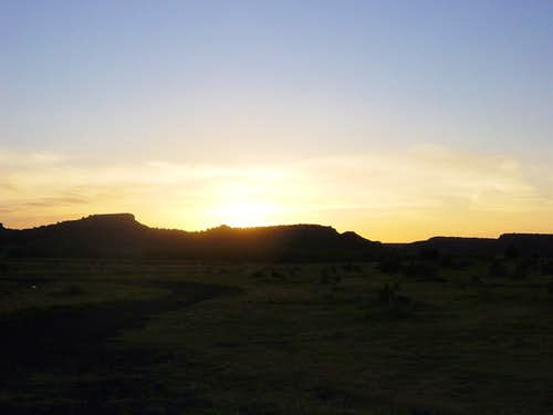 Black Mesa sunrise