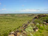 Valley beneath Black Mesa highpoint