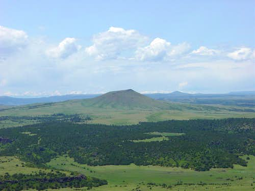 Volcanoes near Capulin
