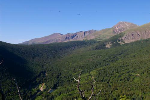 Trinchera Road overview