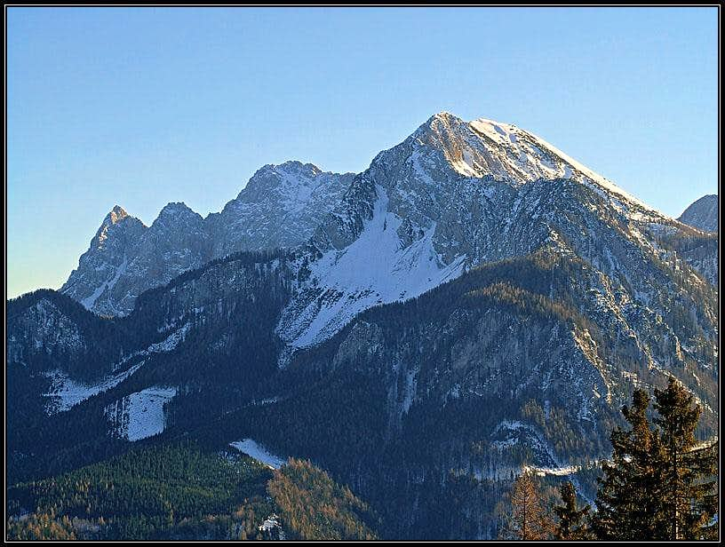 Geissberg/Kozjak from the NW