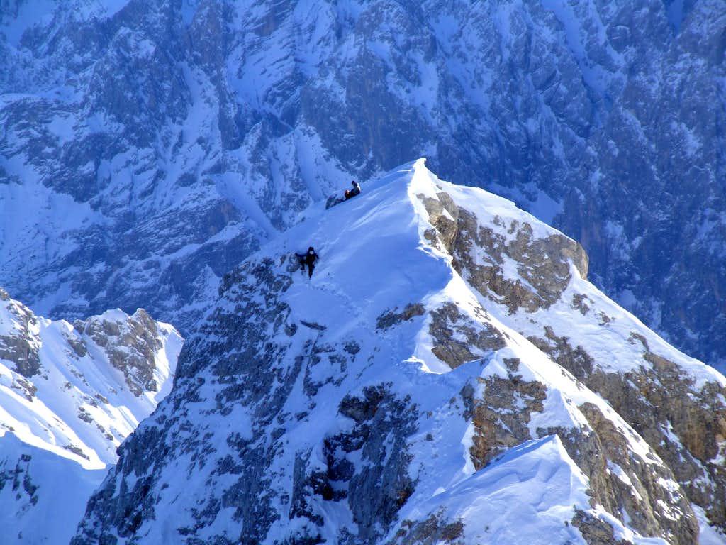 Jubilaeumsgrat Zugspitze / Alpspitze