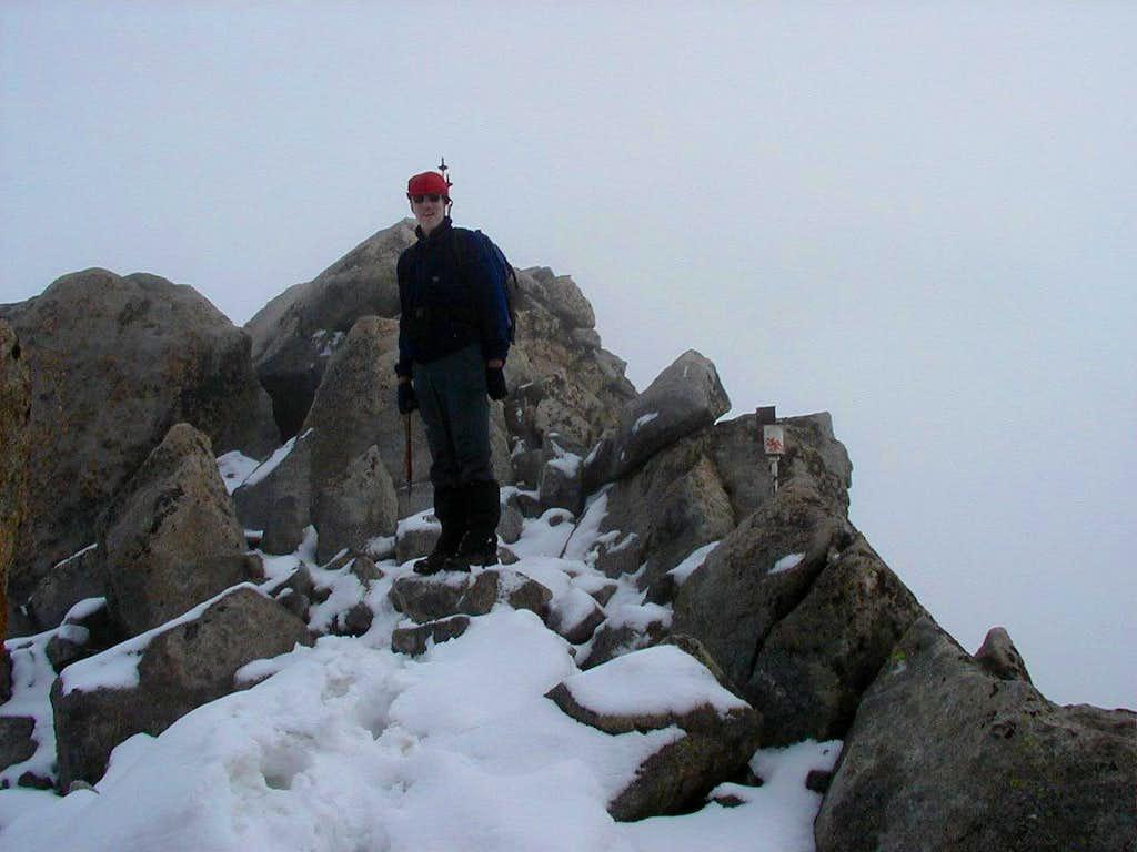 Summit of Pico de la Maladeta