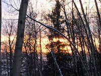 Sunset at Birch Hill