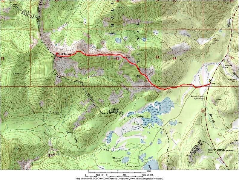 East Ridge Route