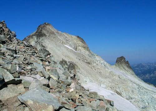 Mt. Daniels east peak is the...