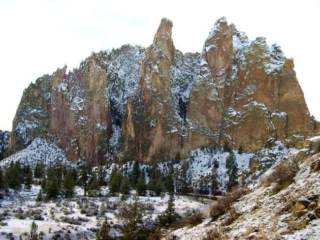 Smith Rock Group from the...