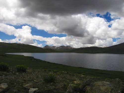 lake at Deosai Plains, Northern Areas of Pakistan