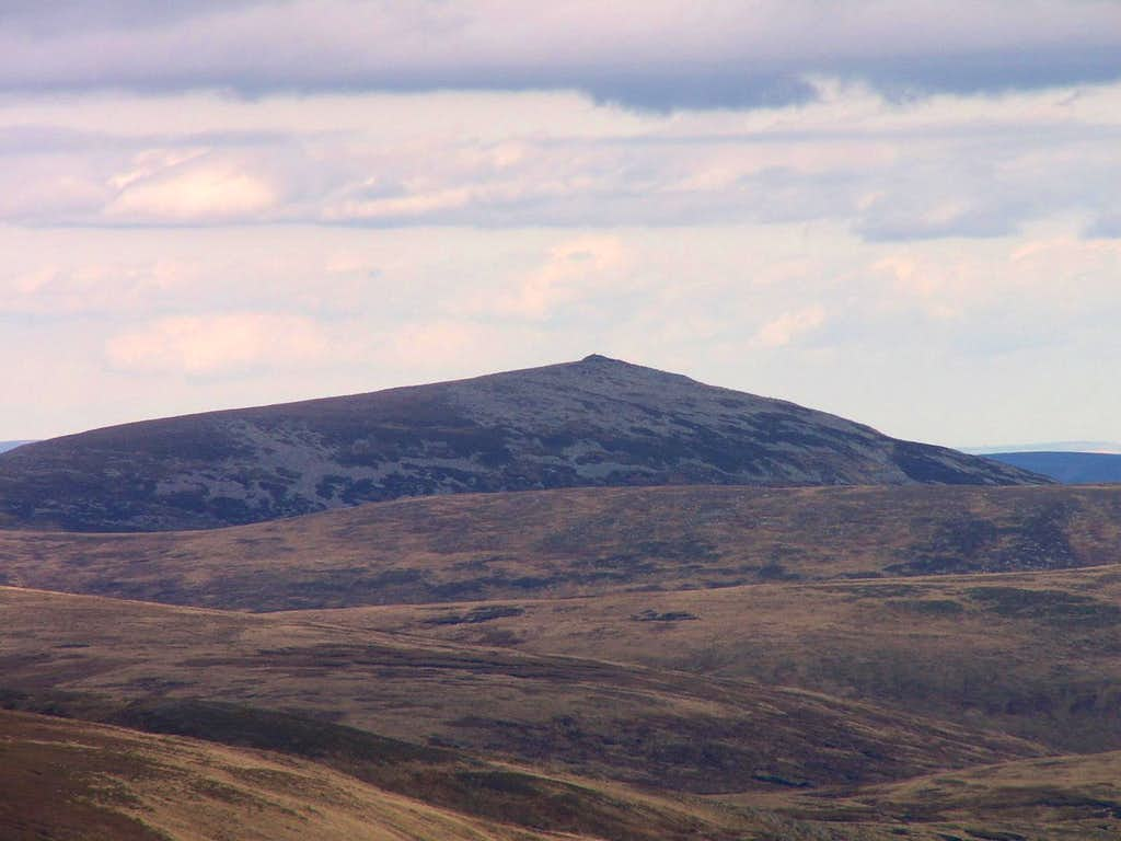 Broad Cairn from Glas Maol