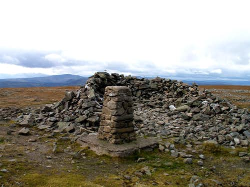 Glas Maol Summit Trig