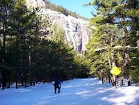 Cathedral Ledge in winter...