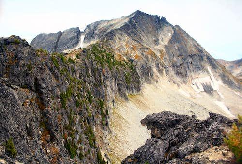 Mount Vingolf North ridge