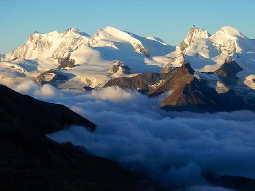 Monte Rosa from Lagginhorn