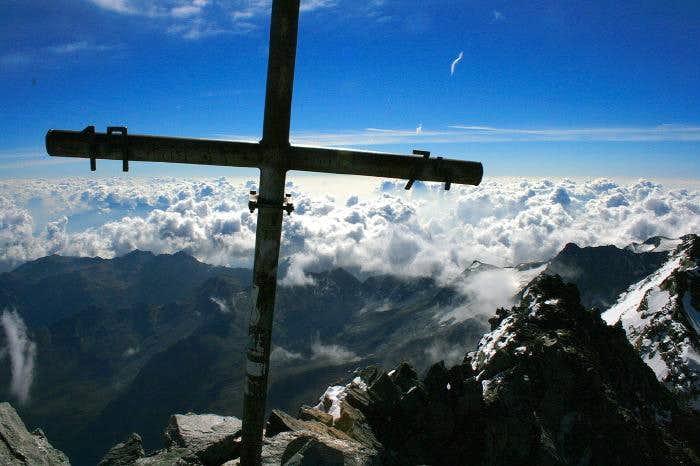 The summit of Lagginhorn