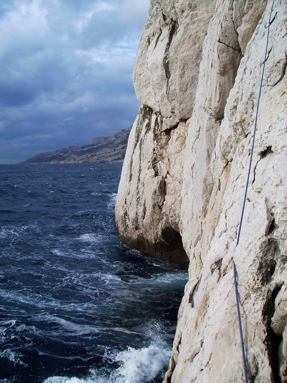 Climbing above sea