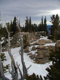 summit of Papoose
