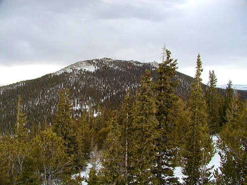 view of Squaw Mountain