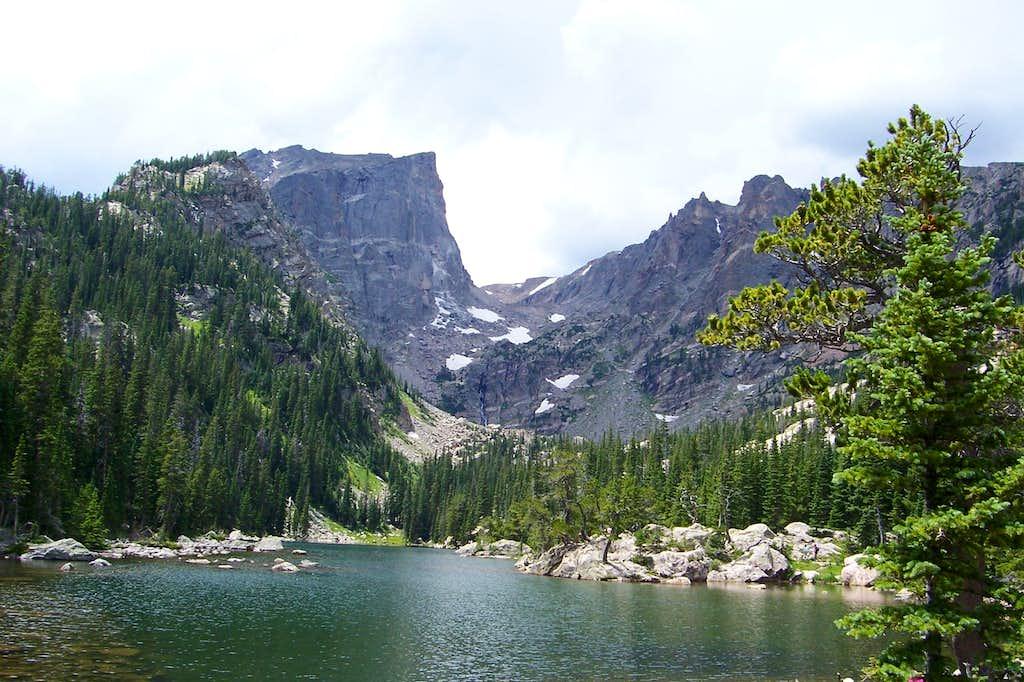 Hallett from Dream Lake