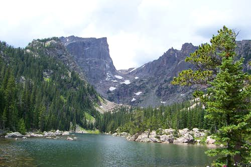 Hallett from Dream Lake