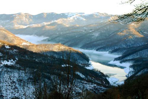 Brugneto's Lake