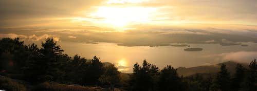 Buck Mountain sunset