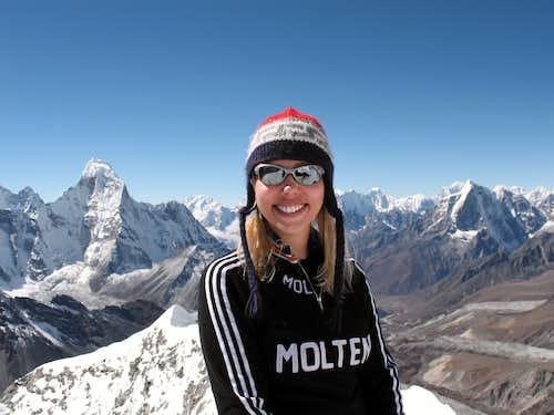 Summit of Island Peak, Nepal