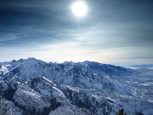 southward summit view
