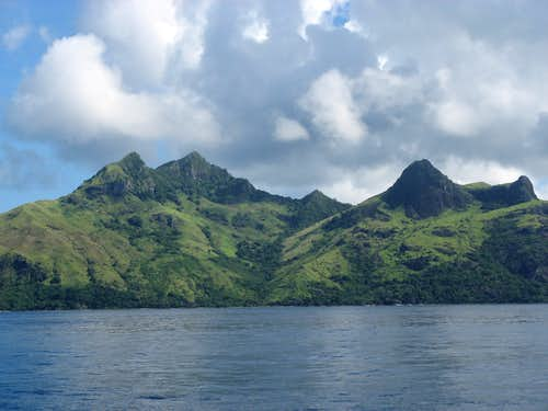 West side of Waya Island, Yasawa group, Fiji